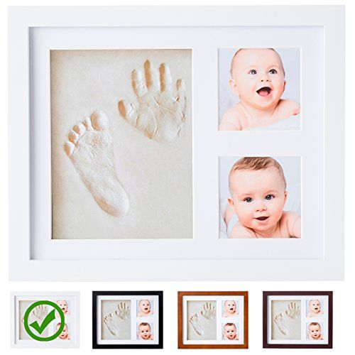 DIY Baby Footprint Handprint Impression Ink Kit Shadow Photo Frame Keepsake Baby Shower Safe Gift