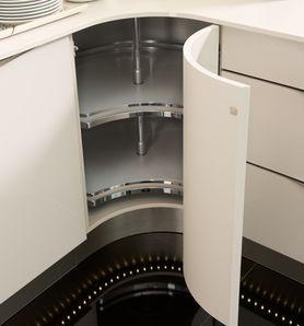 Mueble de cocina con esquina curva de nolte dise os de cocinas pinterest nova and kitchens - Nolte cocinas ...