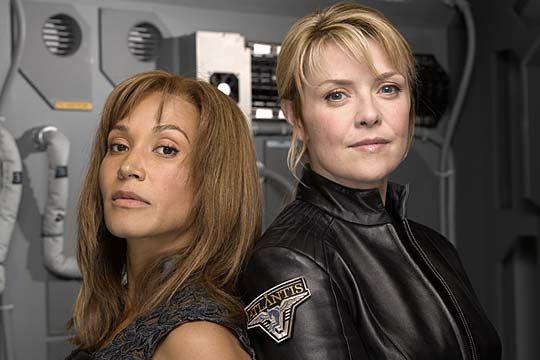 Teyla & Sam, Stargate Atlantis.