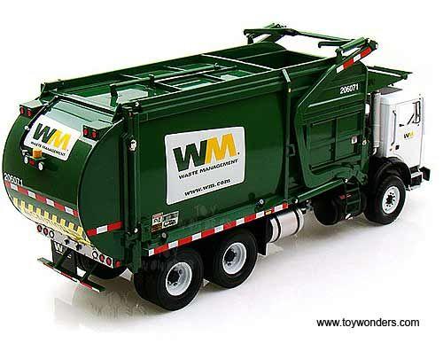 Mack Front End Loader With Trash Binfirst Gear Waste Management