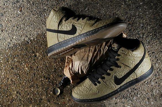 "Nike SB Dunk High PRM ""Brown Paper Bag"""