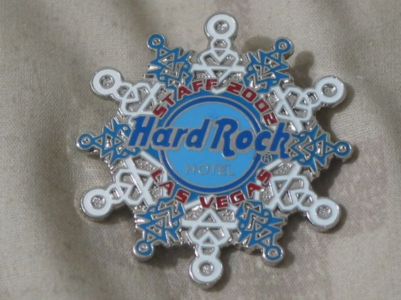 A Junkee Shoppe Junk Market Stop: HARD ROCK Hotel Las Vegas 2002 Staff Christmas Pinback ... For Sale Click Link Here To View >>>> http://ajunkeeshoppe.blogspot.com/2015/12/hard-rock-hotel-las-vegas-2002-staff_12.html