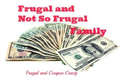 My family is not frugal every minute of our lives.  This story shares a little bit of how we are frugal and how we spend a little money.