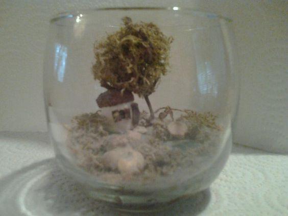 Fairies under glass