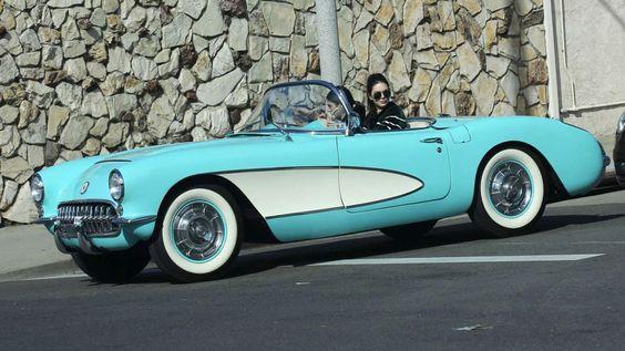 Kendall Jenner 1957 Corvette