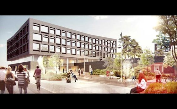 Henning Larsen Architects won Egedal Town Hall and Health Centre in New Zealand , #competition , #architecture [from Architecture Lab]