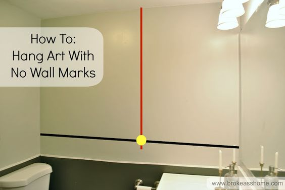 How To Hang Tape Measure And Tape On Pinterest