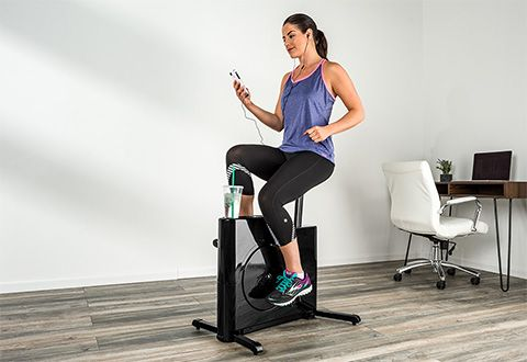 The Most Space Saving Stationary Bike Sharper Image Stationary Bike Fitness Equipment Design Strengthen Core Muscles