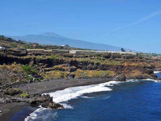 Tenerife's Playa Bollullo, in Spain's Canary Islands