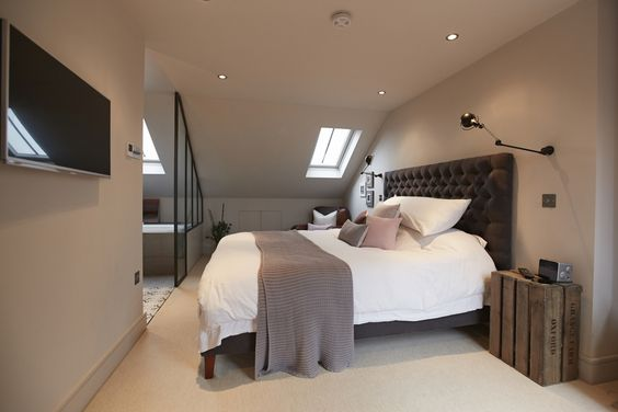 Loft conversion bedroom google search home inspo - How to convert a loft into a bedroom ...