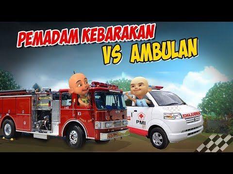 Upin Ipin Balapan Mobil Pemadam Kebakaran Vs Ambulan Ipin Senang Gta Lucu Youtube Pemadam Kebakaran Mobil Balap Mobil