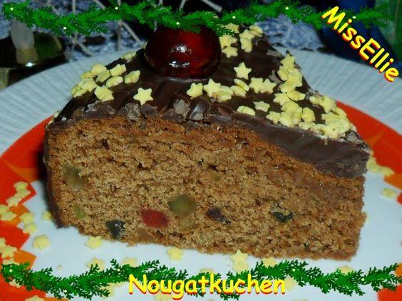 ~ Kuchen ~ Nougatkuchen