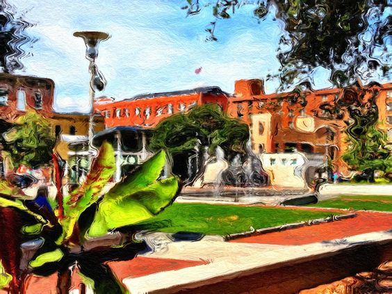Ellis Square, Savannah, GA