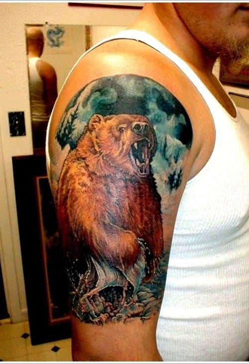 Bear Tattoo Design 2015 - Copy