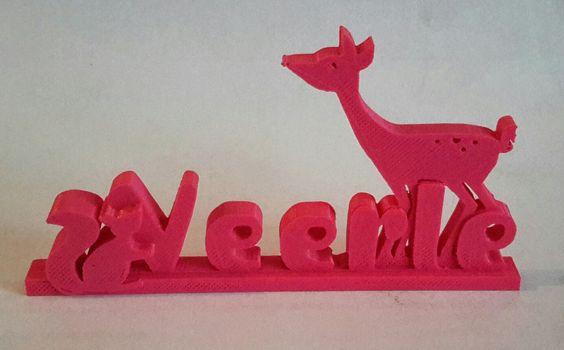 3D printed birth announcement – Printed Birth Announcements