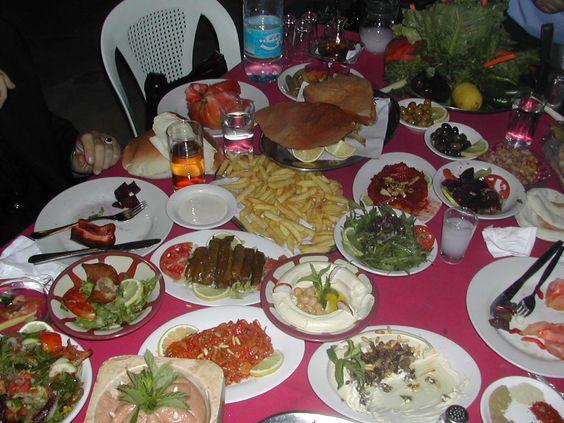 Meza Wadi Zahle Lebanon