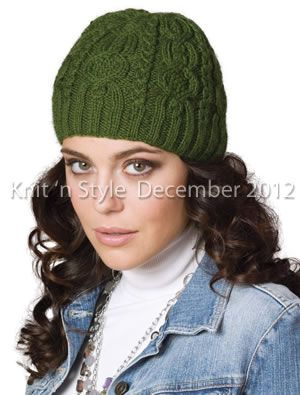 """Cable Hat"" from our December 2012 issue."