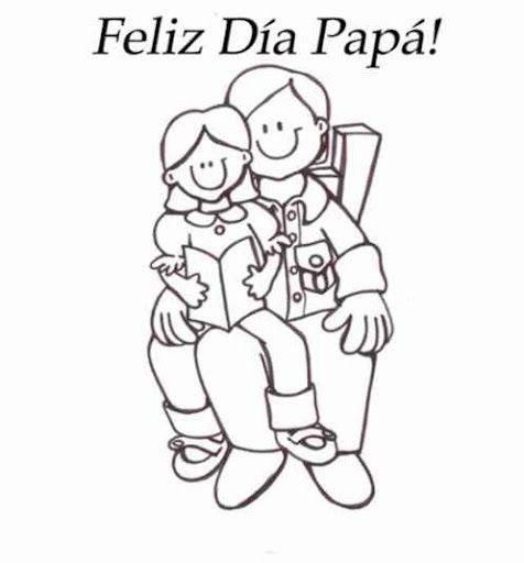 Dibujos Del Dia Del Padre Para Colorear Dia Del Padre Imagenes