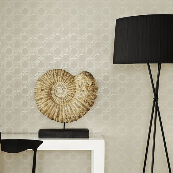 Graham & Brown 32-35 Kelly Hoppen Style Enigma Wallpaper | Lowe's Canada