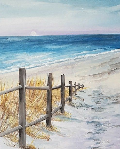 Pin By Teresa C On Nature In 2020 Beach Painting Beach Art Watercolor Landscape