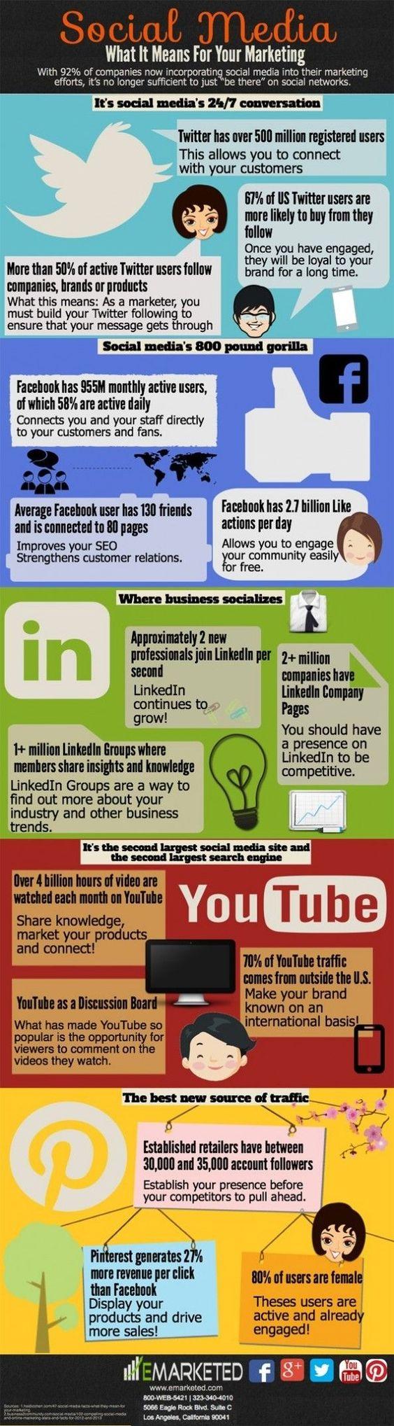 Social Media Secrets Infographic by lorene