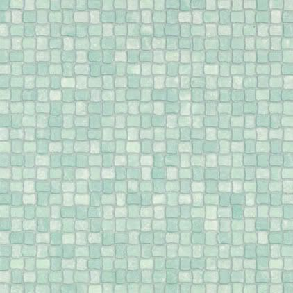 Details about green mint mosaic tile rhinofloor vinyl for Blue lino for bathroom