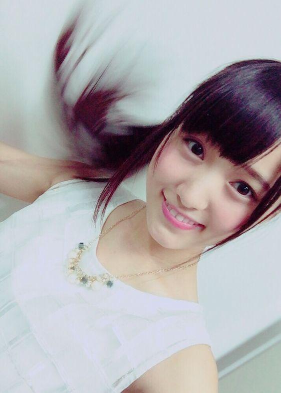 荒ぶる髪の毛の菅井友香