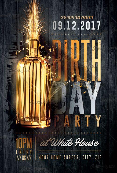 Birthday Party Flyer Psd Templates Birthday Flyer Party Flyer
