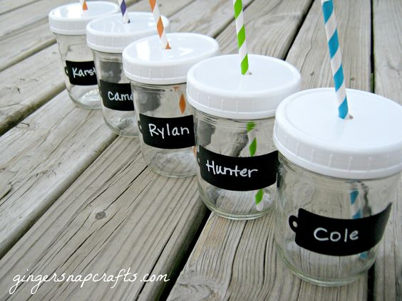 Mason Jar Drink cups {Guest Post} | Skip To My Lou