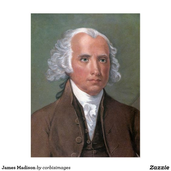 James Madison Postcard
