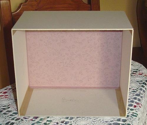 Pas pas petit meuble trois tiroirs 2 cartonnage et compagnie - Meuble trois tiroirs ...