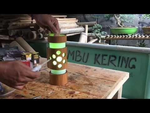 9 Kerajinan Tangan Dari Bambu Yang Mudah Dibuat Ide Berkebun