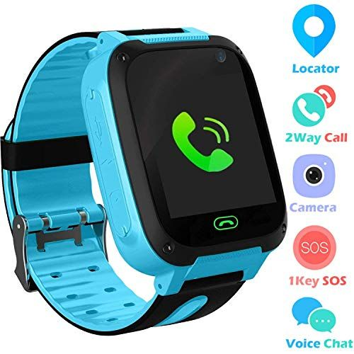 Kids Smart Watch Phone Smartwatches For Children With Gps Tracker Sim Card Anti Lost Sos Call Boys And Girls Birthday Compatible Android Ios Touch Screen Gps B Phone Watch For Kids Best