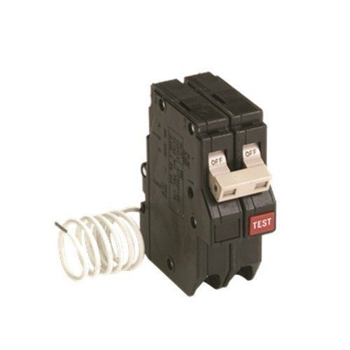 Eaton Ch250gf Ch Series 2 Pole Gfci Breaker 3 4 120 Vac 50 Amps Review Gfci Breakers Electrical Breakers