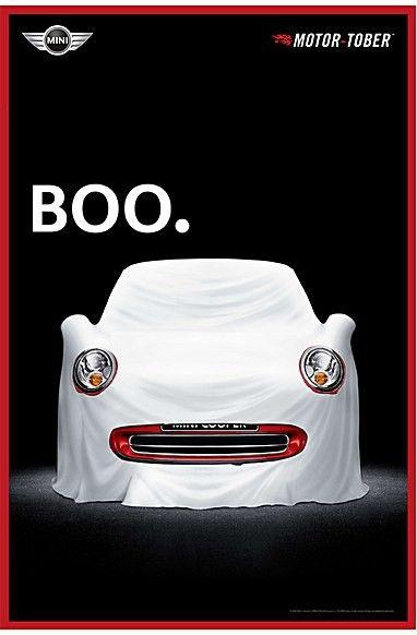 Mini Cooper ad: