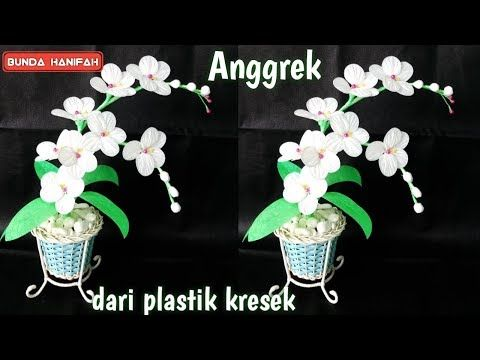 Cara Membuat Bunga Dari Plastik Kresek How To Make Flower From