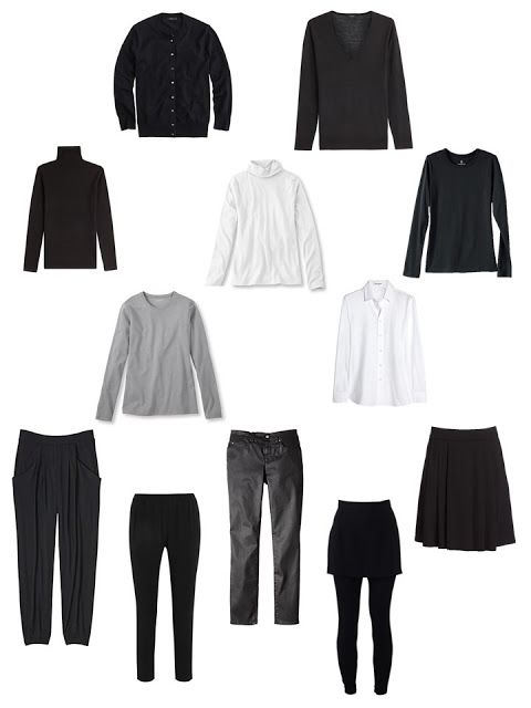 Love all of these shapes apart from the miniskirt: