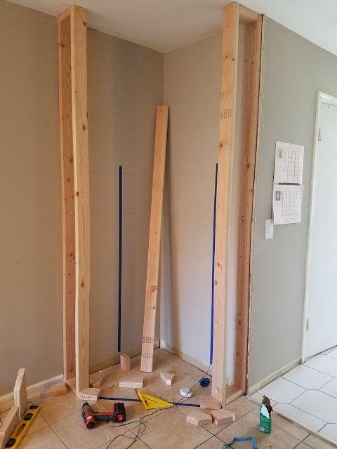 How To Diy Build Corner Kitchen Pantry Corner Kitchen Pantry Corner Pantry Diy Kitchen Renovation