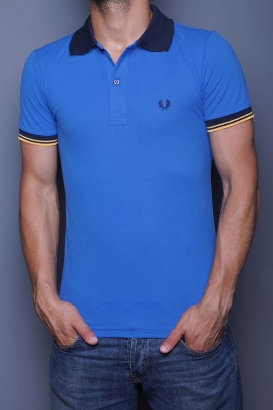 Cotton Polo Shirts Fit Men And The Mod On Pinterest
