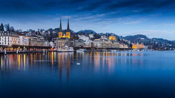 Vierwaldstättersee, Luzerne, Schweiz