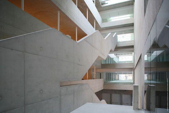 università luigi bocconi - milano - grafton - scalinata - foto frederico brunetti