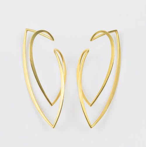 Kathrin Sättele - Ohrflügel, Gold 750