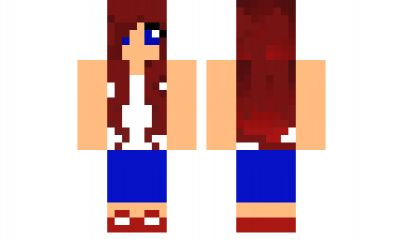 minecraft skin cupcake-girl Find it with our new Android Minecraft Skins App: https://play.google.com/store/apps/details?id=the.gecko.girlskins