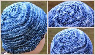 Strickanleitung für eine Mütze - oder wie stricke ich Postman´s Hat - Dornröschen-Wolle