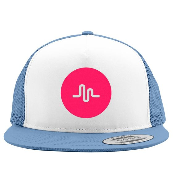 Musical Ly Embroidered Trucker Hat