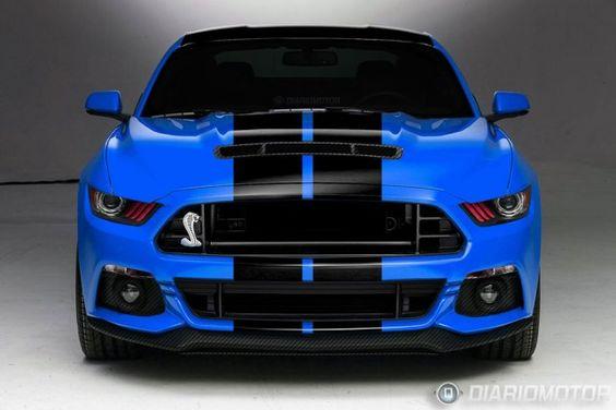 2015 Ford Mustang GT 500   Ford Shelby Mustang GT500 2015 ganha primeira projeção