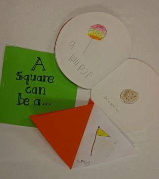 shapes books, from Kindergarten...kindergarten...