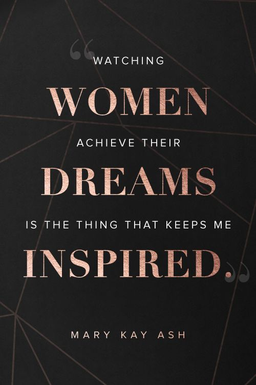 Women are stronger when they support each other. Learn how you can start a business working with some of the most amazing women you'll ever meet at MaryKay.com/ICan.