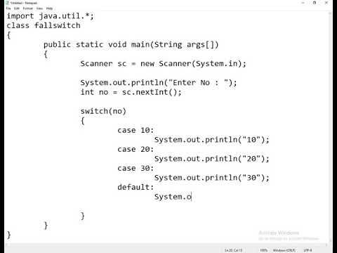 2020 Programming In Java Switch Case Part 3 Practice In This Video We Explain About Switch Case General Exa In 2020 Switch Statement Computer Programming Syntax