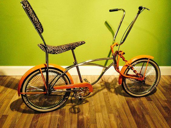 Lowrider Orange 05 Custom Bikes Kustom And Wheels